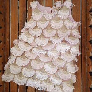 OSHKOSH B'GOSH Pink Fringe Party Dress     Size 3T